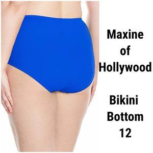 NEW Maxine of Hollywood Swimsuit Hipster Bottom